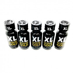 XL Extreme Gold Poppers 25ml x 5