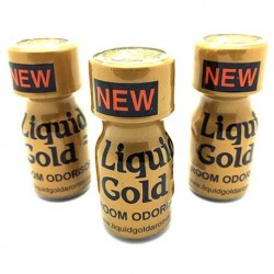 Liquid Gold Poppers 10ml x 3