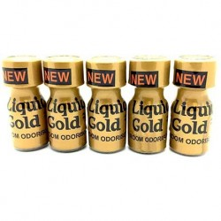 Liquid Gold Poppers 10ml x 5