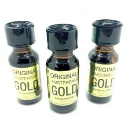 Amsterdam Gold Poppers 25ml x 3