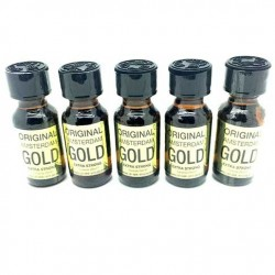 Amsterdam Gold Poppers 25ml x 5
