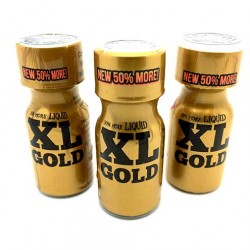 XL Gold Poppers 15ml x 3