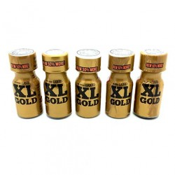 XL Gold Poppers 15ml x 5